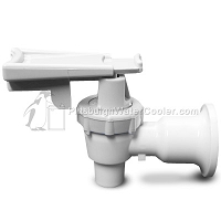 Tomlinson 1009487 - HFS-3F Series White Body White Touch Guard Faucet