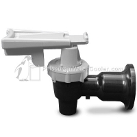 Tomlinson 1011613 - HFS-3F Series Black Body White Touch Guard Faucet