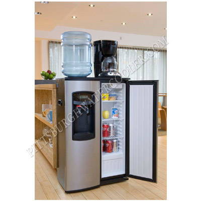 Oasis Bse1srhs 504124c Hot And Cold Bottled Water Cooler With Refrigerator Discontinued