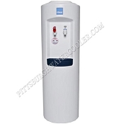 Clover B7A White Cabinet Hot and Cold Bottled Water Cooler