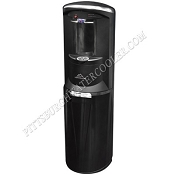 Crystal Mountain Storm - Black Bottom Load Hot and Cold Water Dispenser