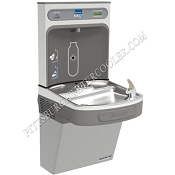 Elkay EZS8WSLK EZH2O Barrier Free 8 GPH Water Cooler with Bottle Filling Station (Refrigerated Drinking Fountain)