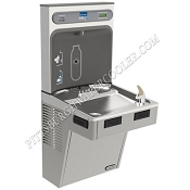 ELKAY LMABF8WSLK EZH2O Filtered Barrier Free 8 GPH Water Cooler with Bottle Filling Station (Refrigerated Drinking Fountain)