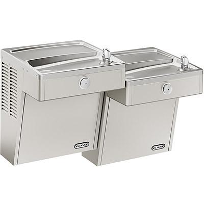 elkay lvrctlddsc bilevel vandal resistant filtered ada drinking fountain