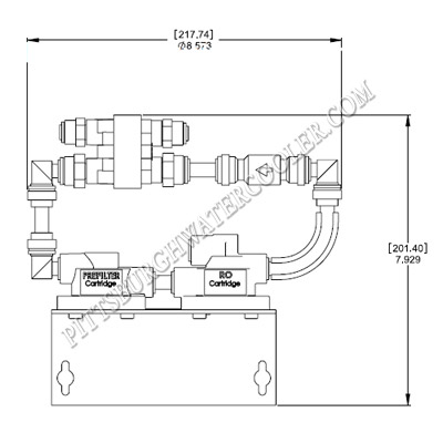 esb oasis wiring diagram everpure ev9272-26 - qc twin series ro filter head ...