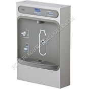 Elkay LZWSSM EZH2O Surface Mount Filtered Bottle Filling Station (Non-refrigerated)
