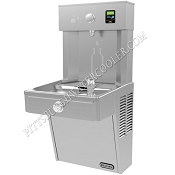 Elkay VRC8WSK EZH2O Barrier Free 8 GPH Vandal Resistant Water Cooler and Bottle Filling Station (Refrigerated Drinking Fountain)