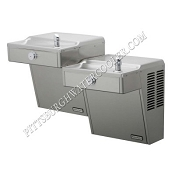 Halsey Taylor HVRBL-L/R ADA Bi-Level Barrier Free Vandal Resistant Drinking Fountain (Non-refrigerated)