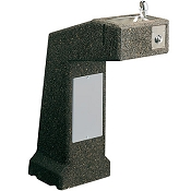 Elkay LK4590 Stone Aggregate Pedestal Barrier Free Drinking Fountain (Non-refrigerated)