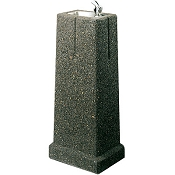 Elkay LK4591 Stone Aggregate Upright Pedestal Drinking Fountain (Non-refrigerated)