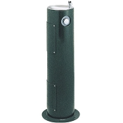 Halsey Taylor 4400 Sanitary FR Freeze-Resistant Endura II Tubular Pedestal Outdoor Drinking Fountain (Non-refrigerated)