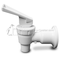 Tomlinson 1008779 - HFS-3F Series White Body White Handle Faucet