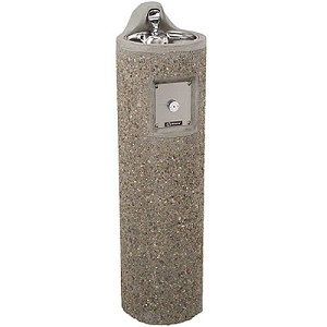 Haws 3060 Concrete Outdoor Drinking Fountain (Non-refrigerated)