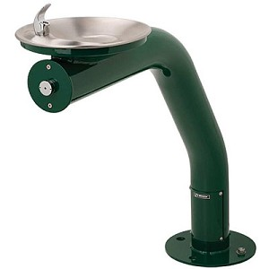 Haws 3380 Barrier Free Outdoor Drinking Fountain (Non-refrigerated)