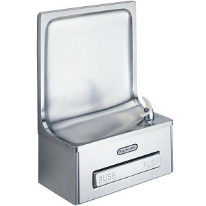 ELKAY EDFP19C Semi-Recessed ADA Drinking Fountain (Non-refrigerated)