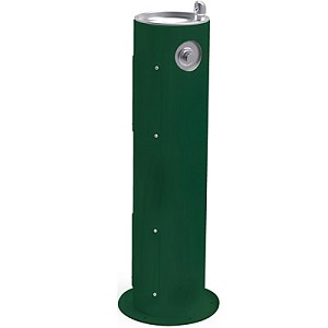 Halsey Taylor 4400FRK Freeze-Resistant Endura II Tubular Pedestal Outdoor Drinking Fountain (Non-refrigerated)