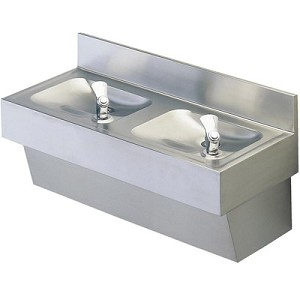 Halsey Taylor 7020 Two-Station Drinking Fountain (Non-refrigerated)