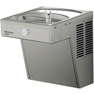 Halsey Taylor HVRGRN8 Barrier Free 8 GPH GreenSpec® Listed Vandal Resistant Water Cooler (Refrigerated Drinking Fountain)