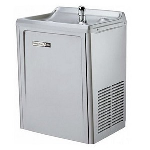 Halsey Taylor SW8A-VR-Q 8 GPH Compact Wall Mounted Vandal Resistant Water Cooler (Refrigerated Drinking Fountain) - DISCONTINUED AND SUBSTITUTED TO HALSEY TAYLOR SW8A-Q + 97446C
