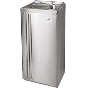 Oasis P16FAWHDCP Free Standing Hazardous Duty 16 GPH Corrosion Free Water Cooler (Refrigerated Drinking Fountain)