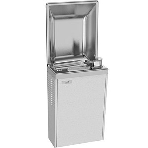 Sunroc SRCD8 Semi-Recessed 8 GPH Water Cooler (Refrigerated Drinking Fountain)