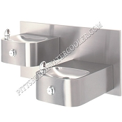 Haws 1119.14 Bi-Level Barrier Free Drinking Fountain (Non-refrigerated)
