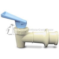 Sunroc B154580-07 - RF Almond Body Blue Handle Faucet Assembly