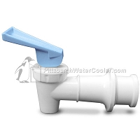 Sunroc B154580-24 - RF White Body Blue Handle Faucet Assembly
