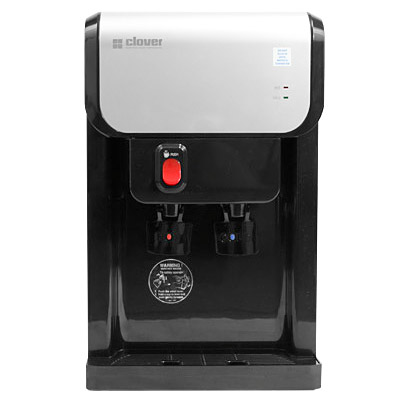 Clover D1k Countertop Hot And Cold Bottleless Water Cooler With Complete Filtration System