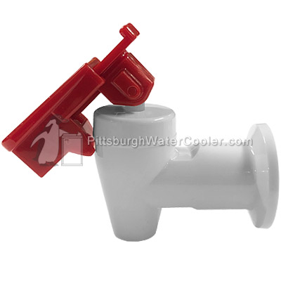 Parts Of A Water Faucet >> White Clover Hot Faucet Assembly (For B7 / D7 / B9 / D9 Models) | Pittsburgh Water Cooler