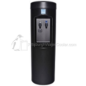 Clover D7B Black Cabinet Room Temperature and Cold Point-of-Use Water Cooler (Bottleless Water Cooler)