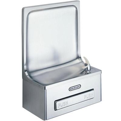 elkay edfp19c semi recessed ada drinking fountain non refrigerated - Elkay Drinking Fountain