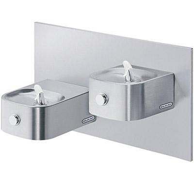 elkay edfp217rac reversed bi level soft sides ada drinking fountain non refrigerated - Elkay Drinking Fountain