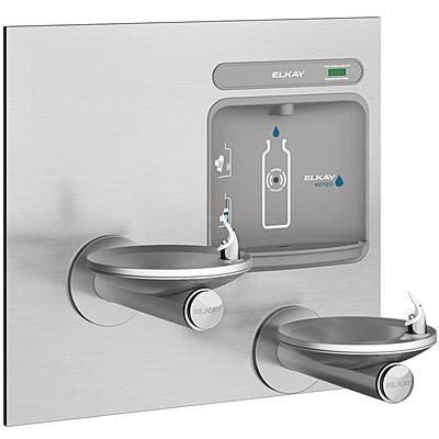 ELKAY EZWS-EDFPBM117K EZH2O ADA SwirlFlo Bi-Level Drinking Fountain with  Bottle Filling Station (Non-Refrigerated)
