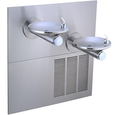 elkay lrpbm28k bi level swirlflo filtered ada 8gph water cooler refrigerated drinking fountain - Elkay Drinking Fountain
