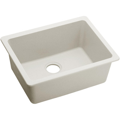 Elkay ELXU2522RT0 - Quartz Luxe, Single Bowl Under-Mount Sink (Ricotta  Finish)