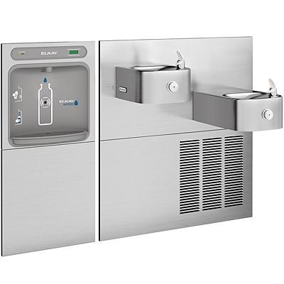 water cooler with bottle filler