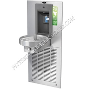 Oasis M8WRSBF Modular Barrier Free VersaFiller 8 GPH Water Cooler and Bottle Filling Station (Refrigerated Drinking Fountain)