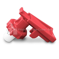Oasis 032055-010 - Red Safety Handle and Bonnet Assembly
