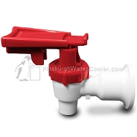 Oasis 032135-014 -  White Body, Red Safety Handle - Faucet Assembly