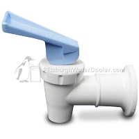 Oasis 032135-104 - White Body, Blue Handle Faucet (Cold Spigot)