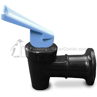 Oasis 032135-121 - Black Body Blue Handle - Faucet Assembly
