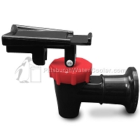 Oasis 032135-123 - Black Body, Red Safety Handle - Faucet Assembly