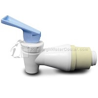 Oasis 033552-002 - White Body, Blue Handle - Faucet Assembly