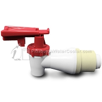 Oasis 033552-003 - White Body, Red Safety Handle - Faucet Assembly