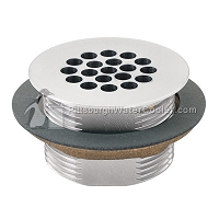 Sunroc SFP-1207 - Satin Strainer Assembly