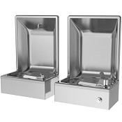 Oasis FLF202PM Semi-Recessed Cuspidor and Drinking Fountain Combination (Non-refrigerated)