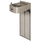 Haws H1109.8HO Touchless Barrier Free 8 GPH Water Cooler (Refrigerated Drinking Fountain)