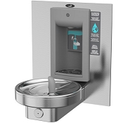 Oasis M140RSBF Modular Barrier Free VersaFiller Drinking Fountain and Bottle Filling Station (Non-refrigerated)