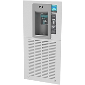 Oasis MWF2EBQ Quasar In-Wall Filtered Electronic VersaFiller Bottle Filling Station (Non-Refrigerated)